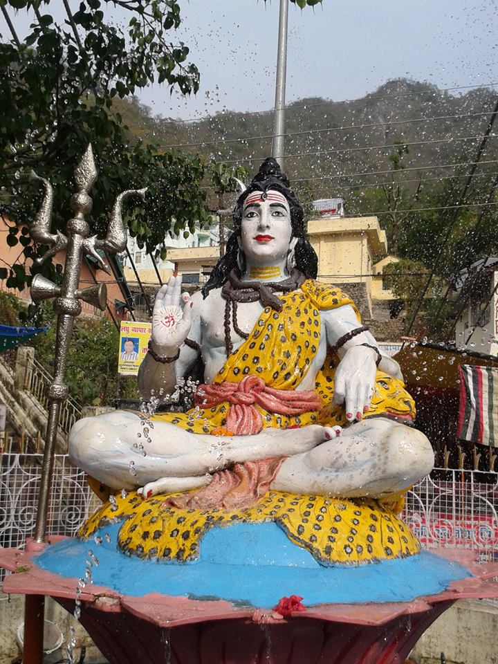 Lord Shiva Statue Ganges Statue of Lord Shiva